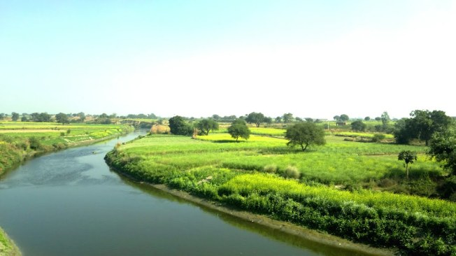 Beautiful Scenery On GT Road Kanpur