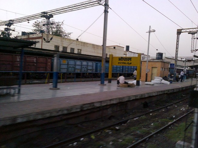 Bhopal junction railway station