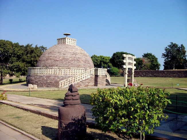 Buddhist Monuments at Sanchi,Bhopal