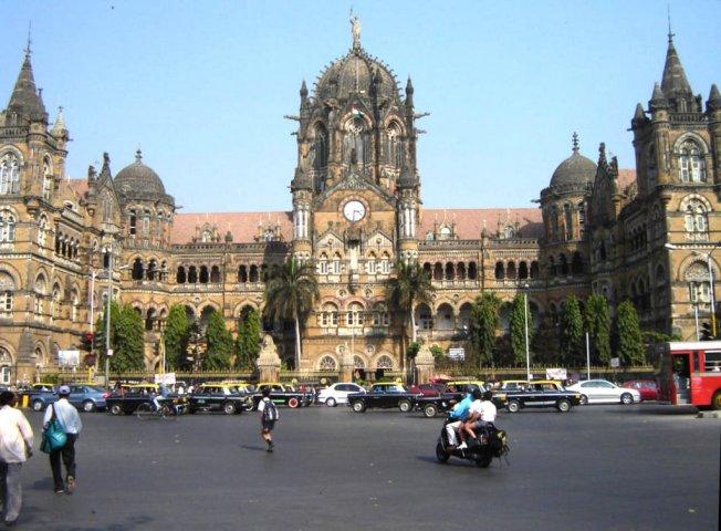 Chhatrapati Shivaji Terminal at Mumbai