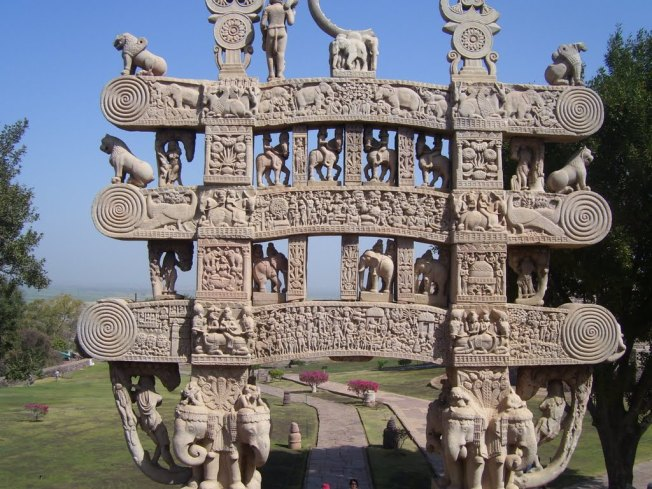 Torana At Sanchi Stupa