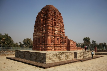 A View Of Laxman Temple
