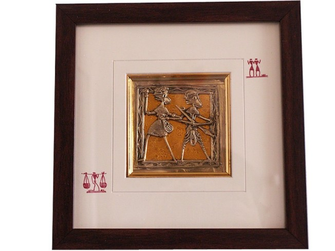Dhokra Painting From India