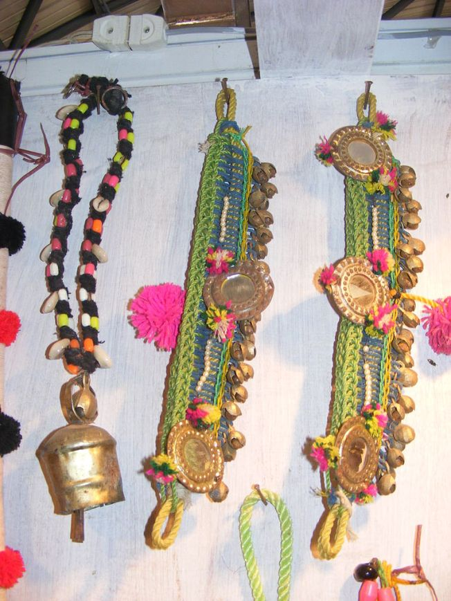 Ornaments which are use decorate livestocks of cattle