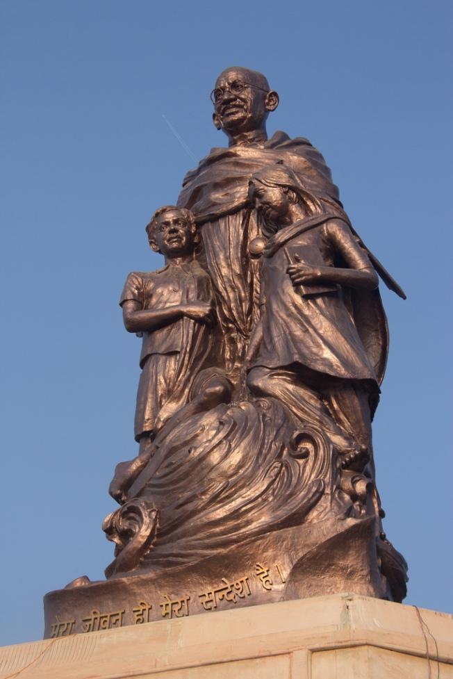 Gandhi Statue In Patna