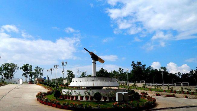 JSCA International Cricket Stadium Entrance