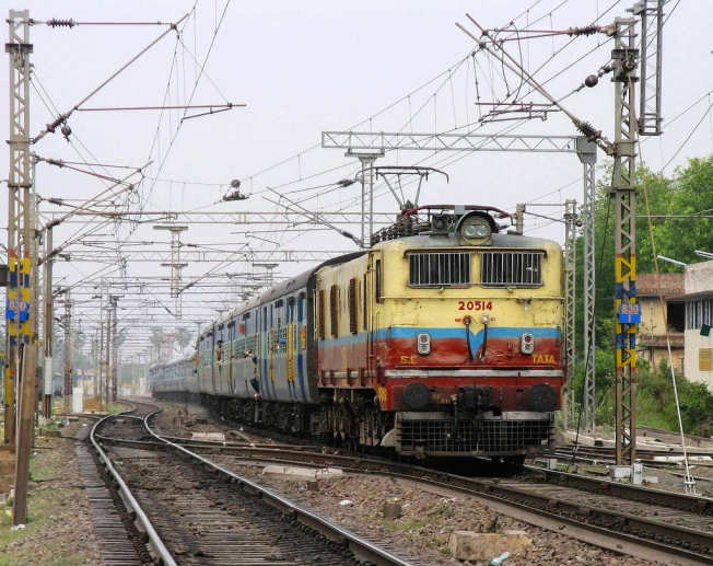 View Of Jharkhand Express