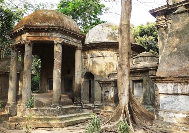 Park Street Cemetery Kolkata