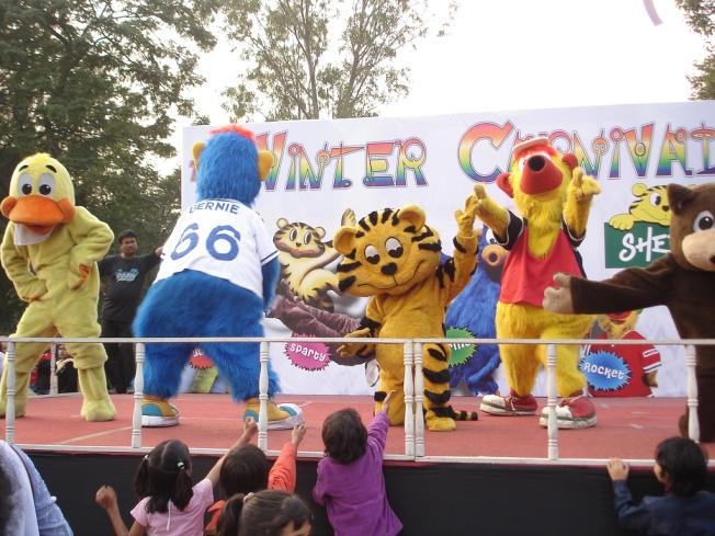 Winter Carnival At Nicoo Park