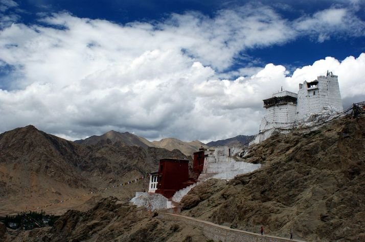 Namgyal Tsemo Monastery Leh