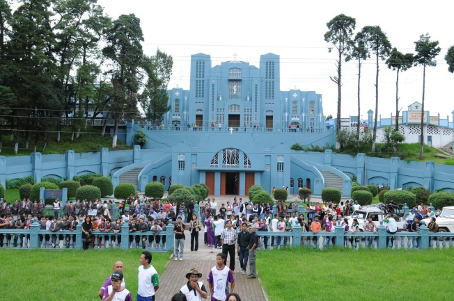Catholic Cathedral in Shillong