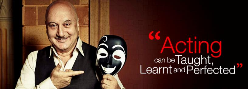Anupam Kher's-Actor Prepares