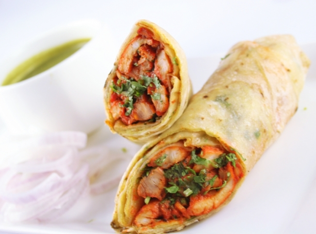 Chicken Tikka Rolls